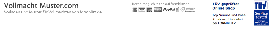 Vollmacht-Muster.com